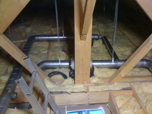 Installation vmc double fux rennes en bretagne vincent for Vmc double flux haut rendement